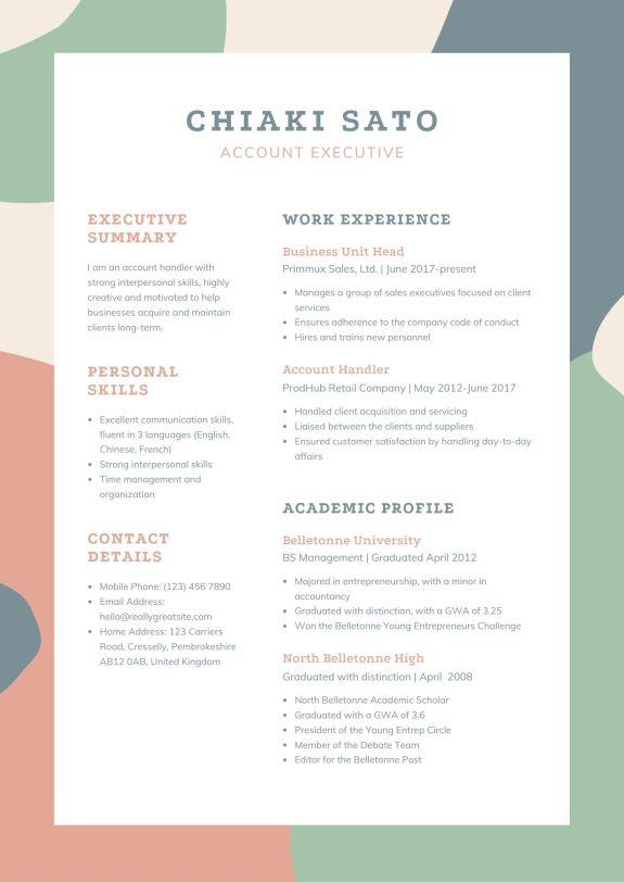 Cara Membuat Cv Profesional Untuk Melamar Kerja Beasiswa Dananwahyu Com